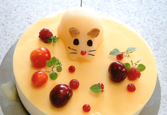 洋菓子教室フランボワーズ「Continental Cake Course」コースのケーキ画像