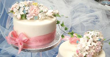 洋菓子教室フランボワーズ「Cake Decorating Course」コースのケーキ画像